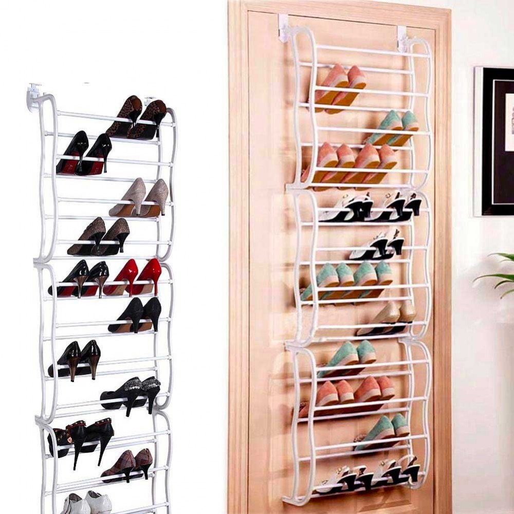 Scarpiera shoes rack amazing 50 paia nuovo salvaspazio organizer ripostiglio MEDIA WAVE store