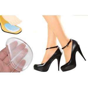 Coppia cuscinetto gel trasparente scarpe calzature tacco