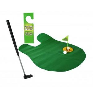 Gioco gioco golf da bagno minigolf da toilette set da gioco completo svago e divertimento
