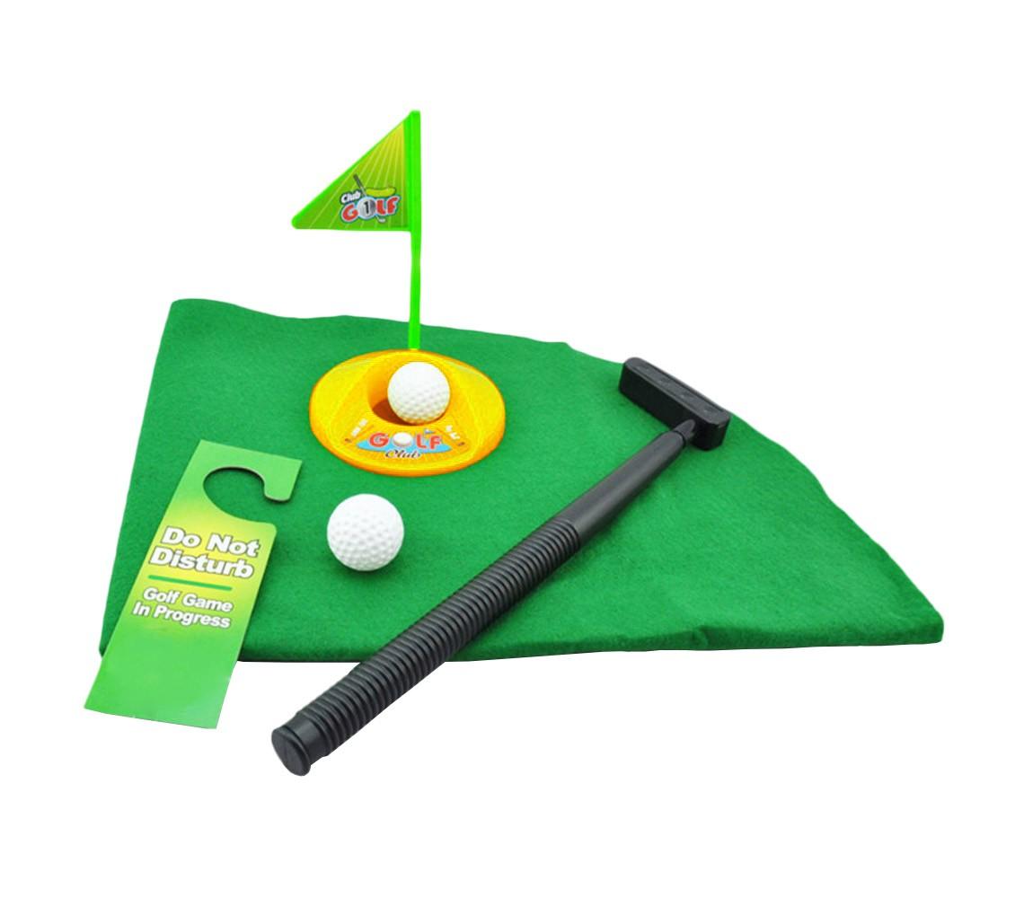 Gioco golf da bagno minigolf toilette set da gioco completo svago e divertimento ebay - Toilette da bagno ...