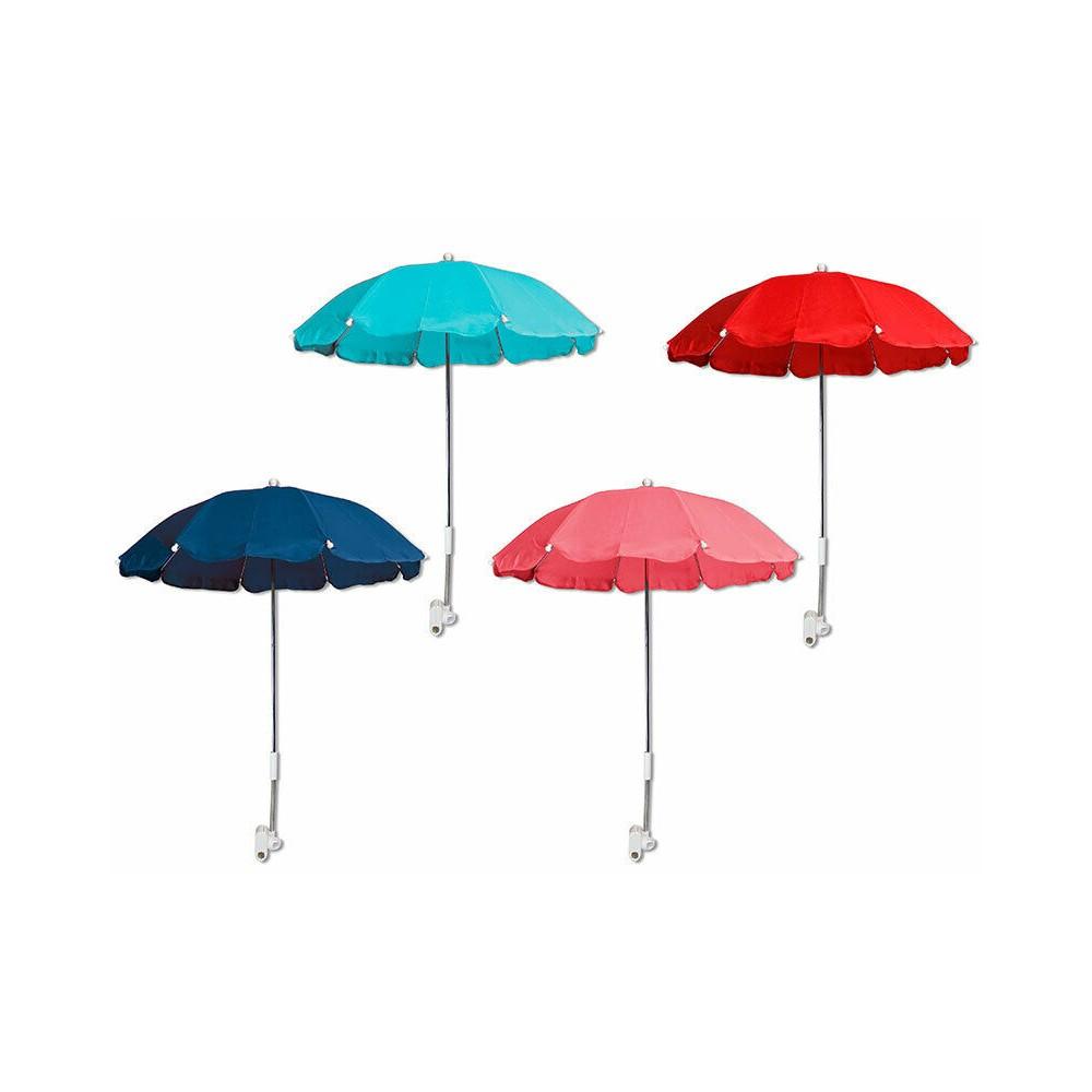 Ombrellino parasole passeggino o lettino con pinza 263181 diametro 70cm