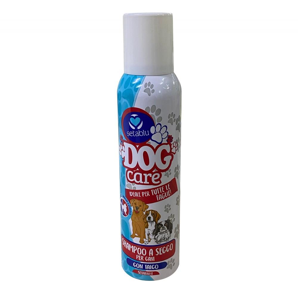 SETABLU Dog Care Shampoo a secco per cani 59045 talco per tutte le taglie 150ml