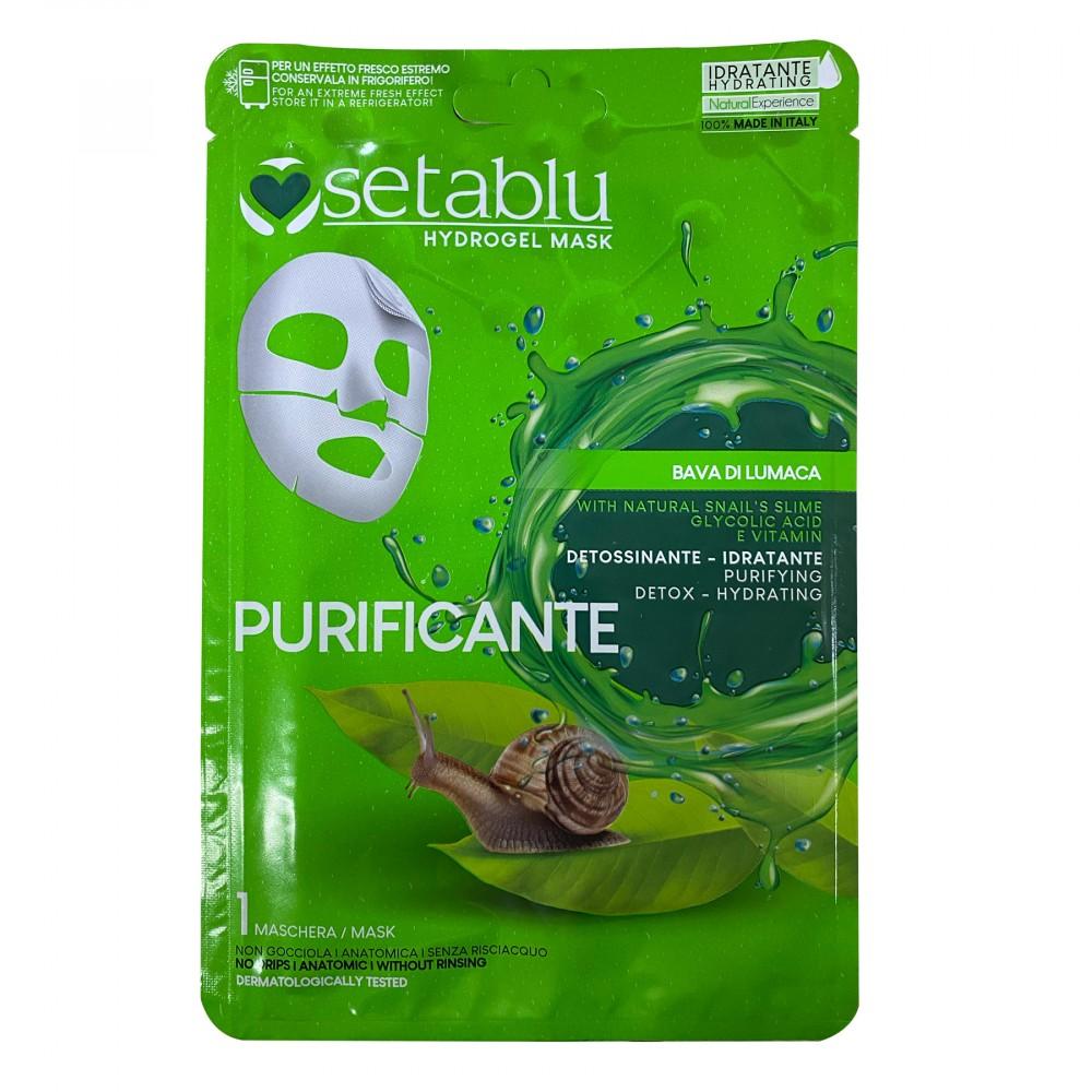 SETABLU maschera PURIFICANTE 590543 Bava di Lumaca Detossicante e idratante