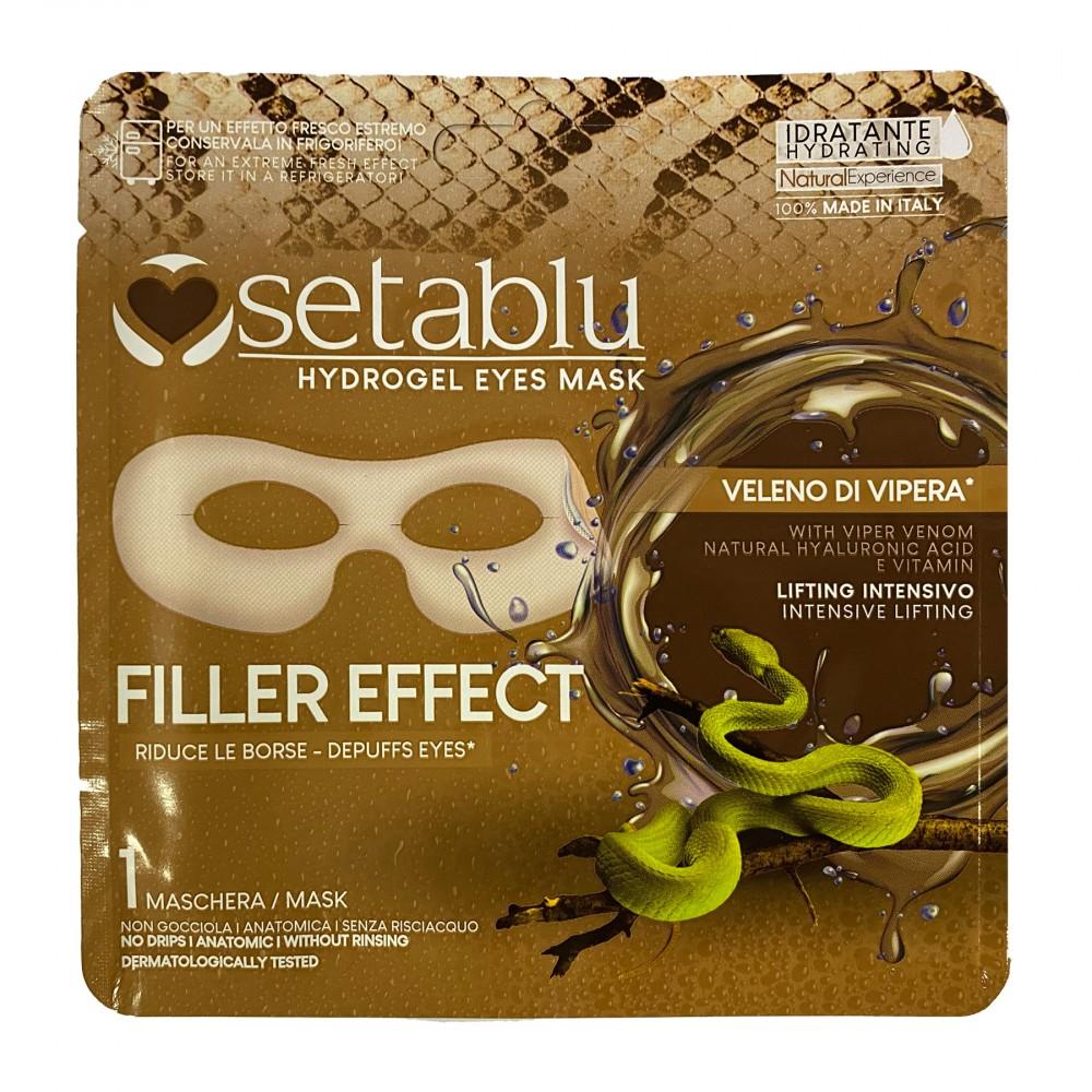 SETABLU maschera Hydrogel 590772 Filler Effect riduce borse veleno di vipera