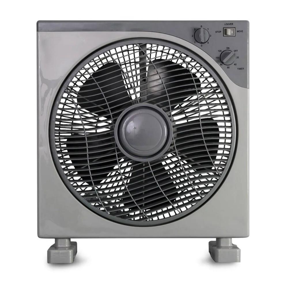 Ventilatore quadrato FELICIA box fun pala 30 cm 3 velocità 45w funzione timer