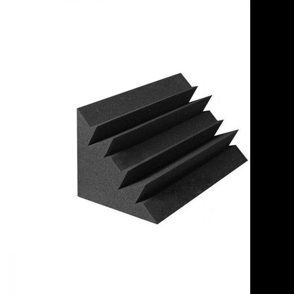 FUBUCA Pannello fonoassorbente Poliuretano Espanso angolare Bass Trap 12x12x24cm