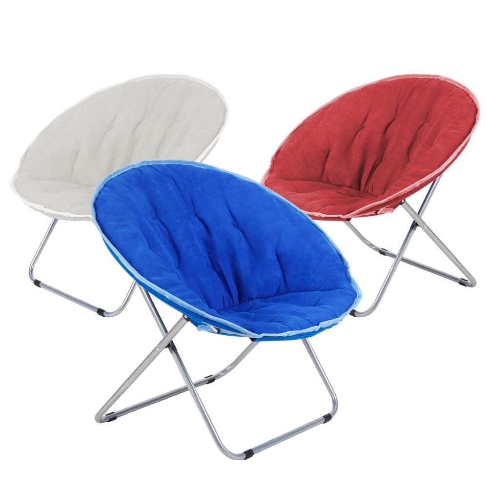 Sedia Pallone da esterno 350001 80x35x80cm pieghevole tessuto sfoderabile