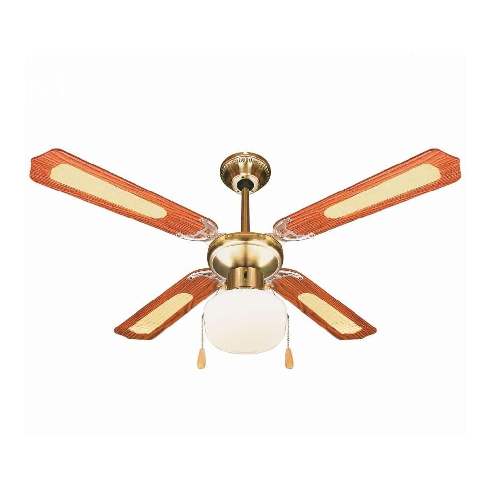 Ventilatore da soffitto DIVINA AIR con luce DA51011 quattro pale 70W 130cm