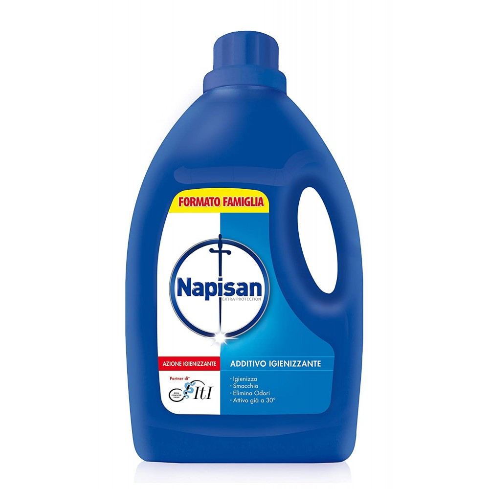 Napisan Liquido 2,4 LT Detersivo Additivo Igienizzante per bucato