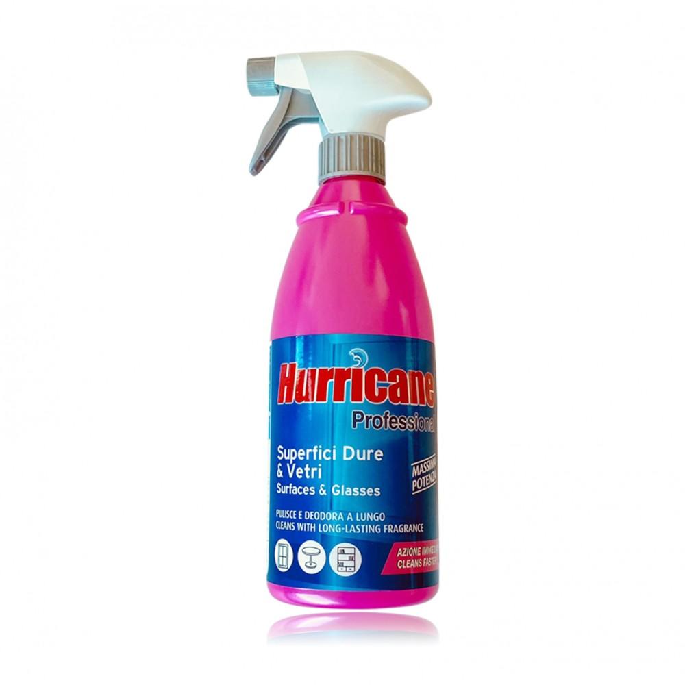 Hurricane Professional Per superfici dure e vetri 750ml Igiene profonda