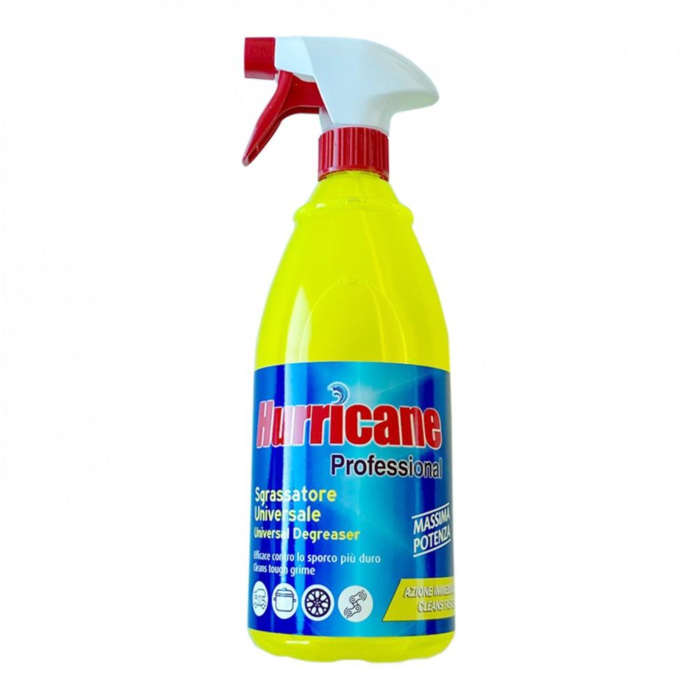 Hurricane Professional Liquido 1000ml Sgrassatore Universale alta potenza