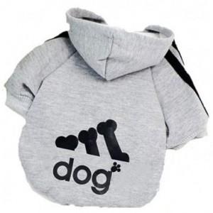 Image of Maglia felpata con cappuccio per cani di piccola taglia vari colori 7106895228581