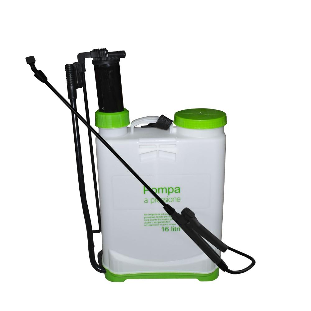 GARDENGO Nebulizzatore Pompa a pressione a spalla 16 Litri e 3 ugelli 4,5 bar