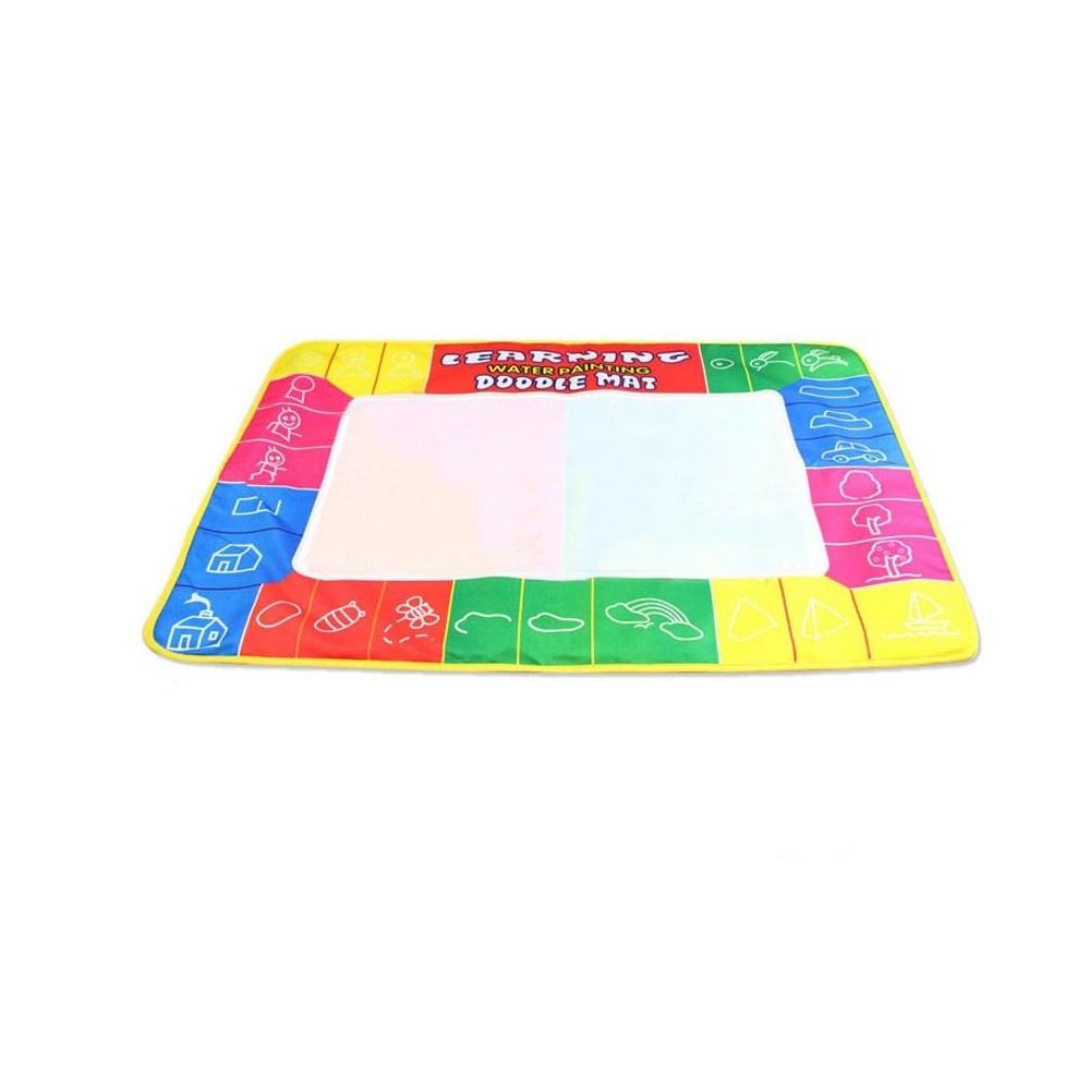 Tappeto magico per colorare 48 x 36 cm con pennarello ad acqua lavagna 122061