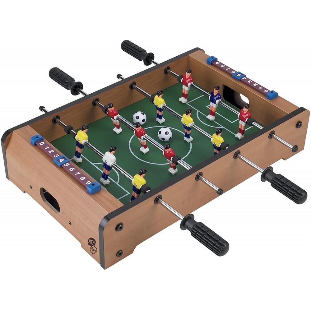 TableTop Football calcio balilla 539706 da tavolo con 2 palline 51x51x10h cm