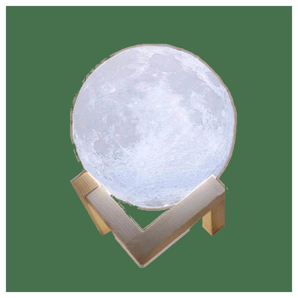 MOON LED Lampada 3D led CM3278 ad accensione touch a forma di luna 12 cm