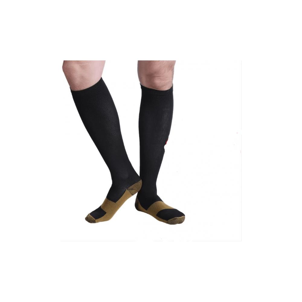 Calzini defaticanti con rame cotone 160207 effetti benefici rilassa la gamba