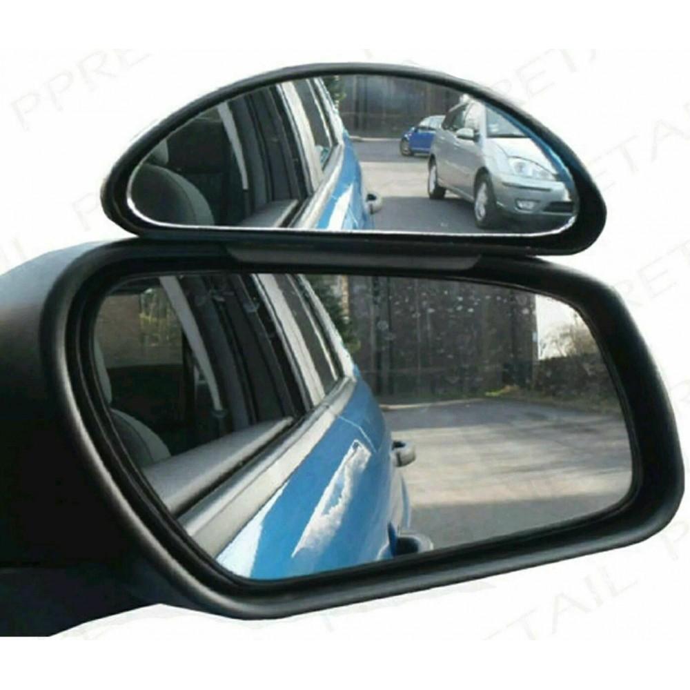 AllRide Specchietto retrovisore 003818 per punto cieco angolo morto 15 x 7 cm