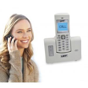 Citofono doppia funzione monofamiliare wireless telebell LST-DB618 con apri-cancello su tastiera e funzione telefono