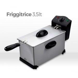 Image of Friggitrice 3,5 lt DCG 2000 Watt termostato regolabile FR2759 7106896470897