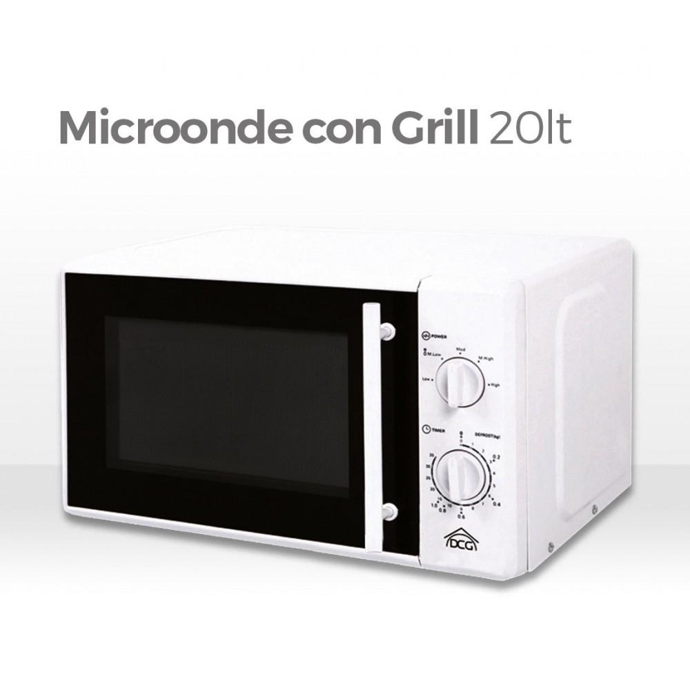 Forno a microonde con funzione grill capacit 20lt dcg820 - Forno con microonde ...