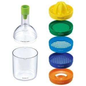 Bottiglia magica utensili da cucina set da 8 accessori utili in cucina