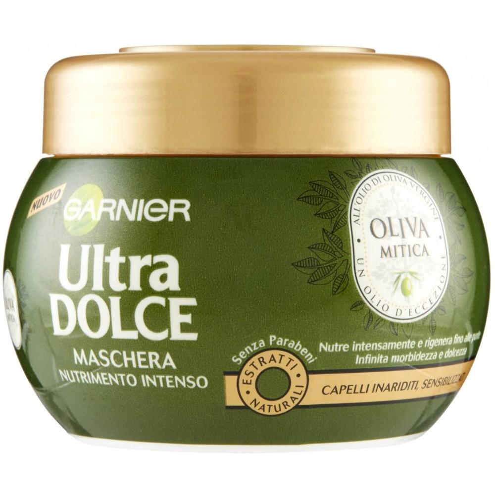Garnier Ultra dolce maschera 696679 nutrimento intenso all'olio di oliva 300ml