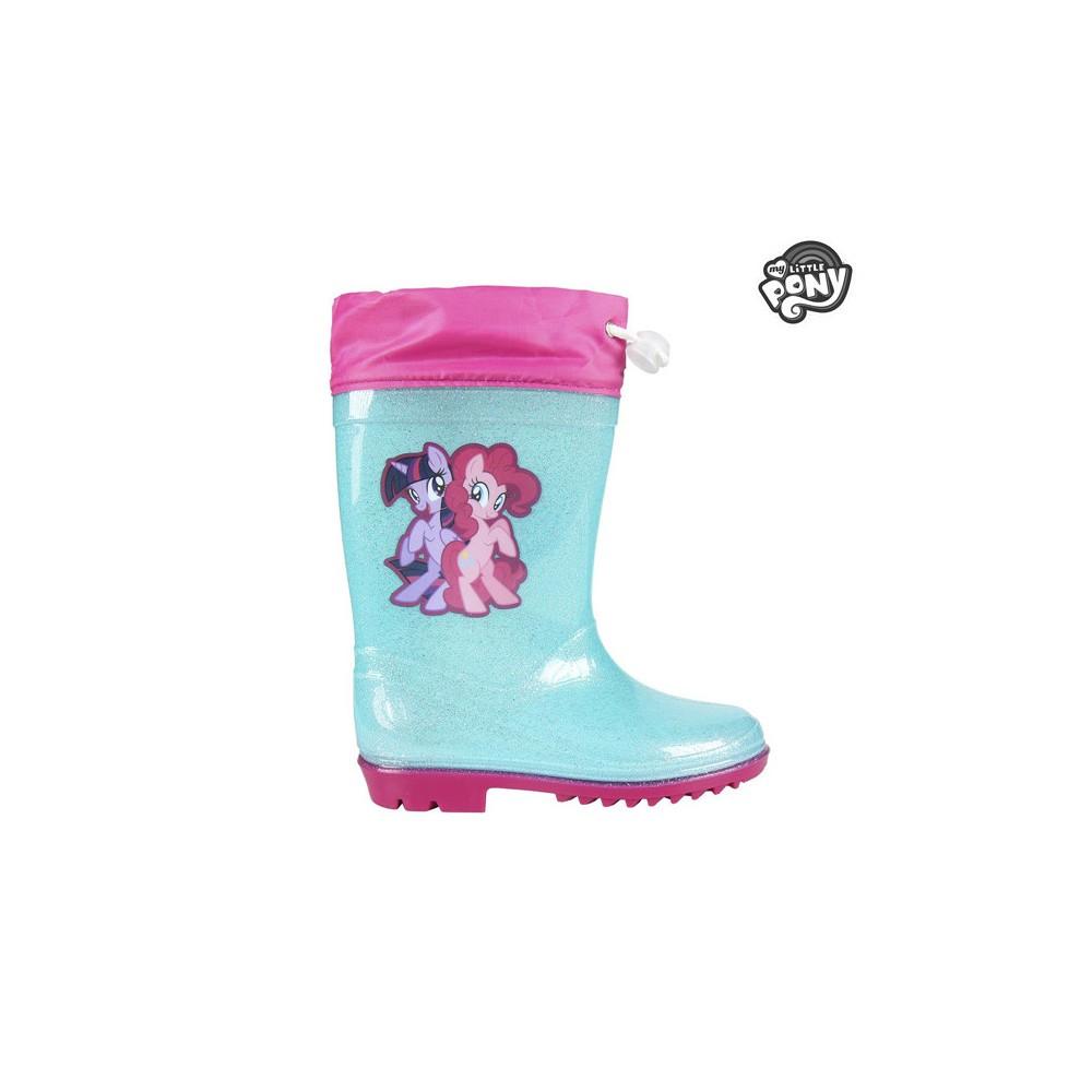 Stivaletto per bambina 23-3496 galosce pioggia MY LITTLE PONY turchese e rosa