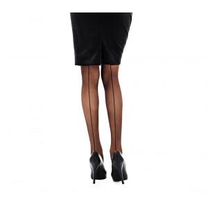 Image of Collant donna calze con riga posteriore 20 DEN in taglia unica stile elegante e retrò 1116 8082974823641