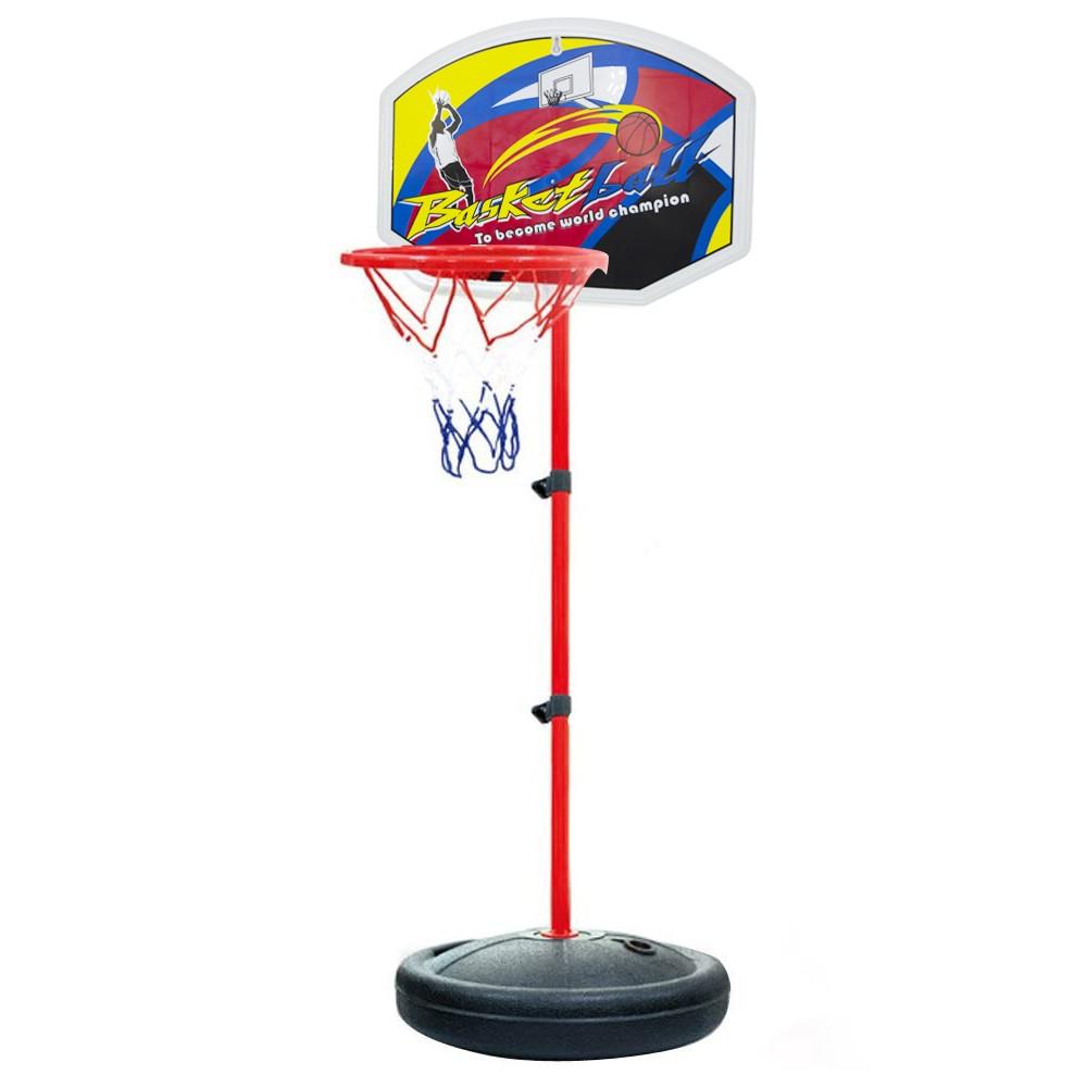 Playset basket bambini 536209 canestro regolabile altezza max 148 cm con palla