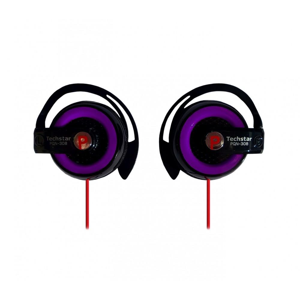 Cuffie con gancio ad orecchio jack 3,5 mm compatibile Iphone,Ipod,lettore dvd,Mp3