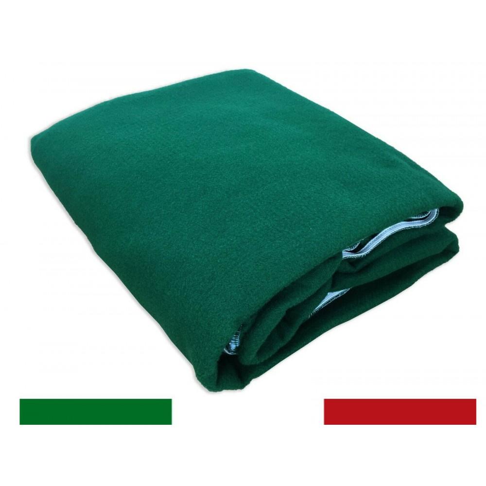 Panno da tavolo per gioco Poker 343926 verde con elastico 140 x 180 cm