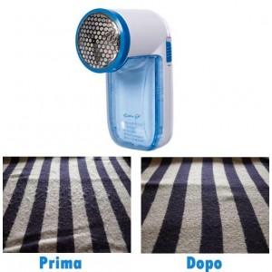 Leva pelucchi e lanuggine a batterie portatile elimina pelucchi per tessuti