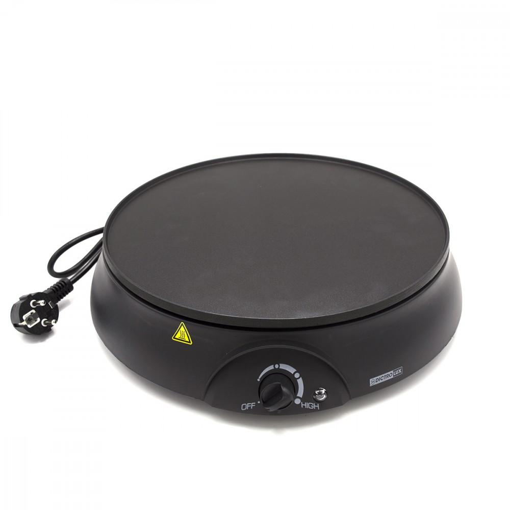Dictrulux Creperia elettrica 30 cm 879000 potenza 1000W termastato regolabile