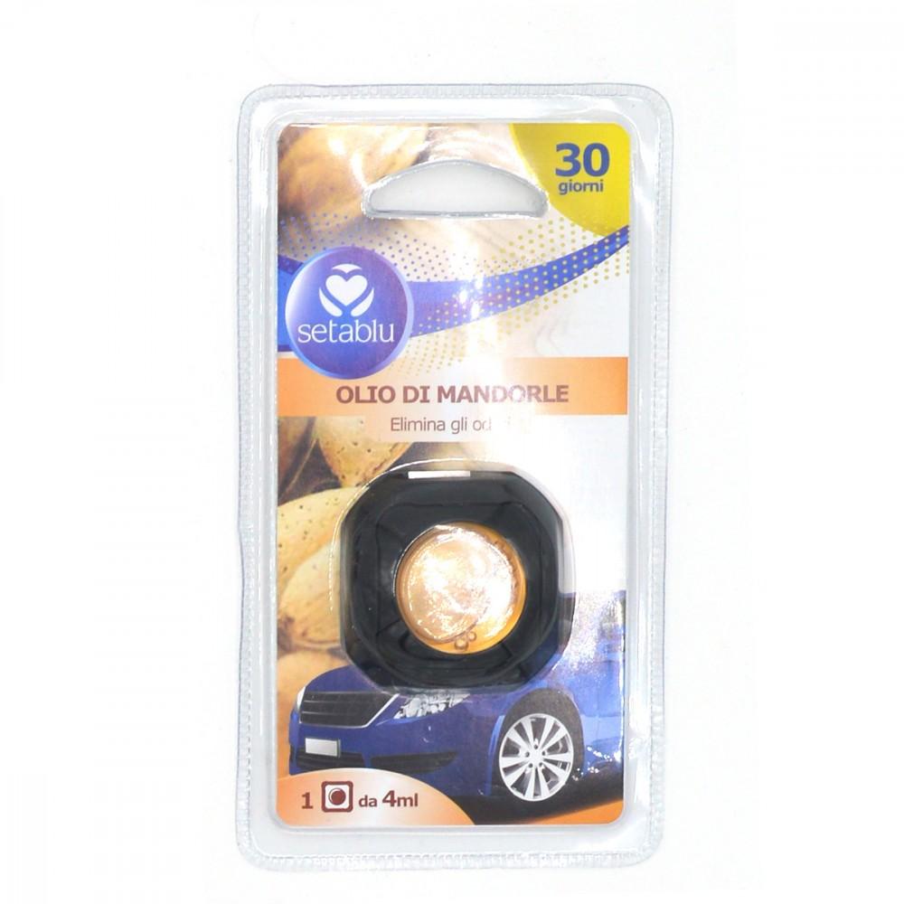 Setablu deodorante per auto 591748 Olio di mandorle elimina gli odori 4ml