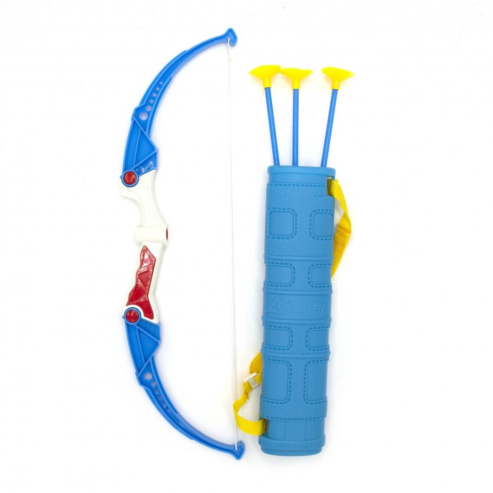 Remitoys Set arco e borsa con tre frecce 258045 giocattolo educativo per bambini