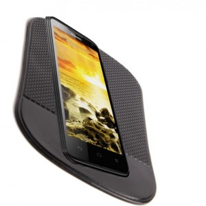Tappetino Big Size antiscivolo auto in silicone per smartphone cellulari monete porta oggetti cruscotto