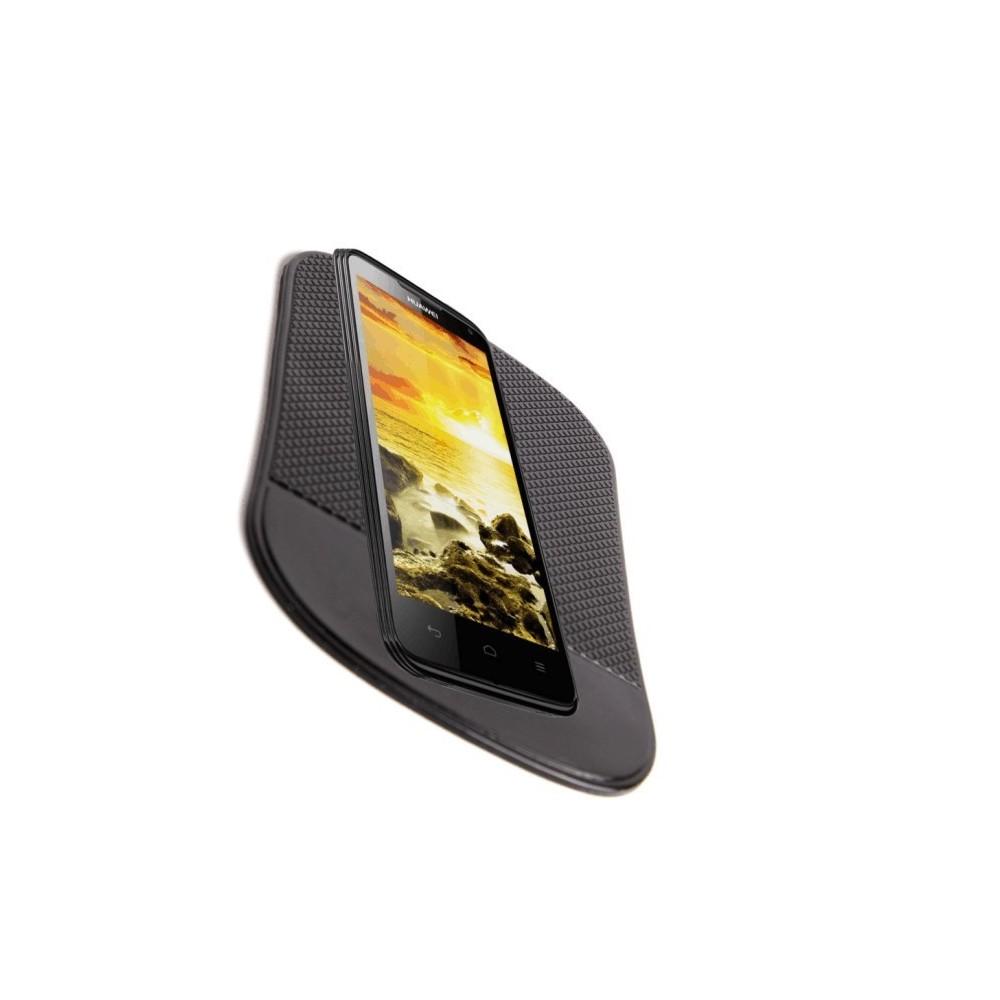 Tappetino Big Size 19 x 14 cm antiscivolo auto in silicone per smartphone cellulari monete cruscotto
