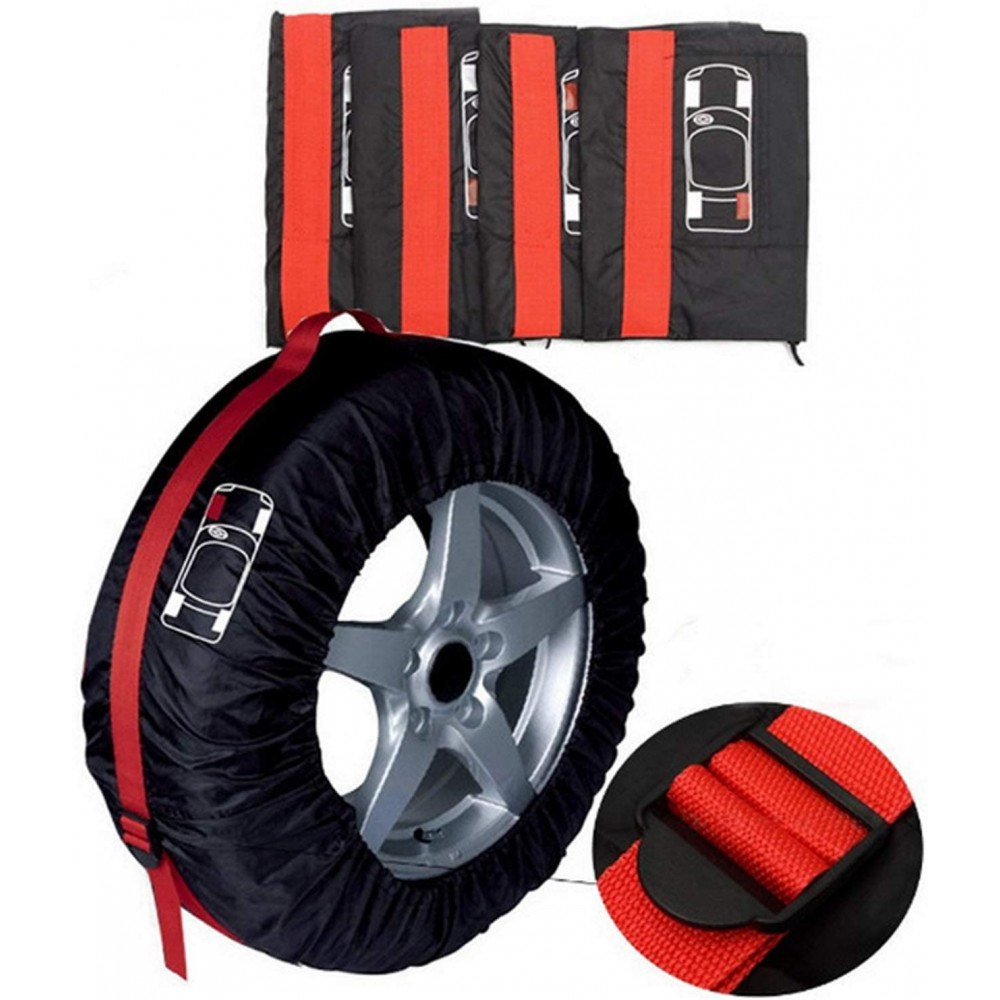 Copri pneumatici fino a 23 pollici custodia protezione gomme auto Ø max 76,4 cm