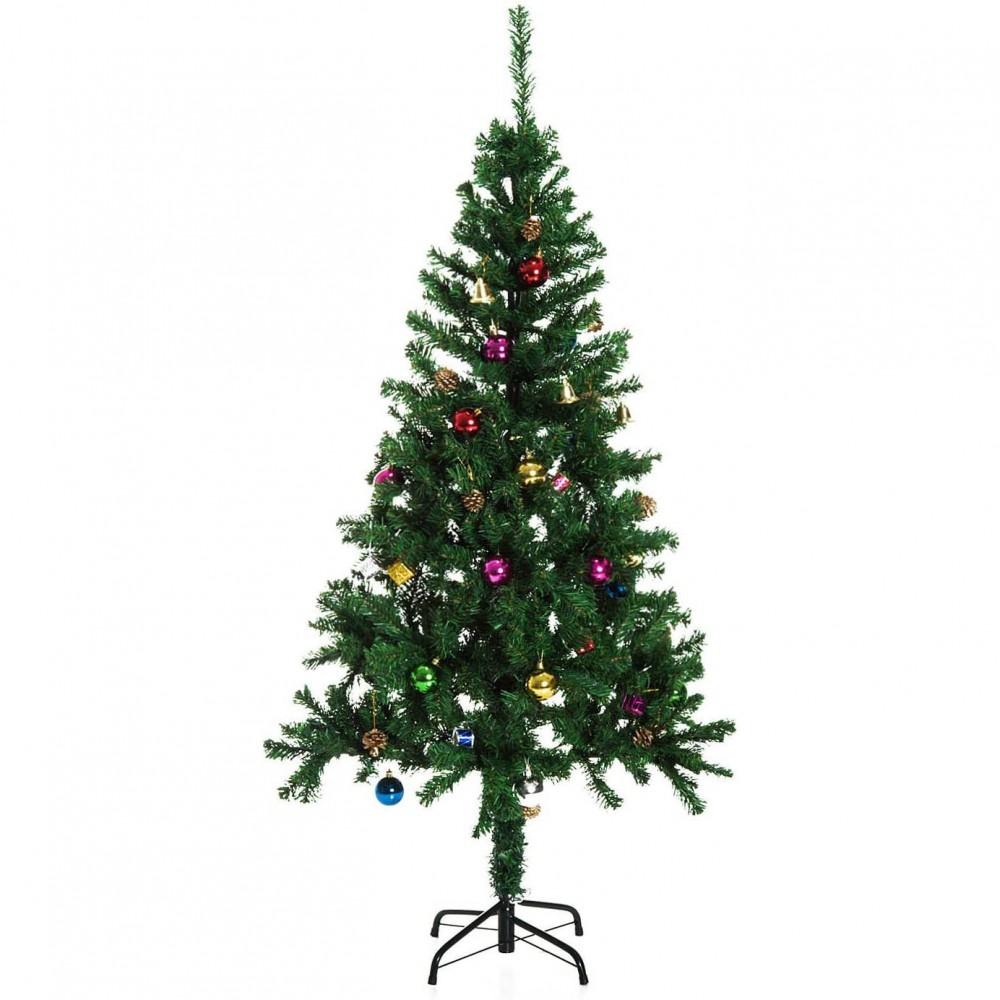 Albero di Natale 180 cm con 550 punte 511035 rami folti PINO DELLE SORPRESE