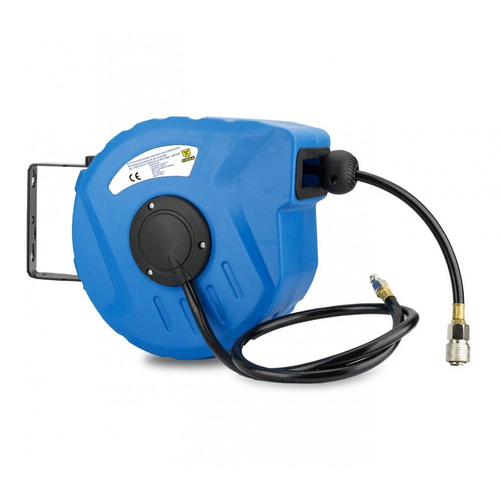Avvolgitubo ad aria compressa 4508 FUBUCA per compressione aria/acqua 9 mt