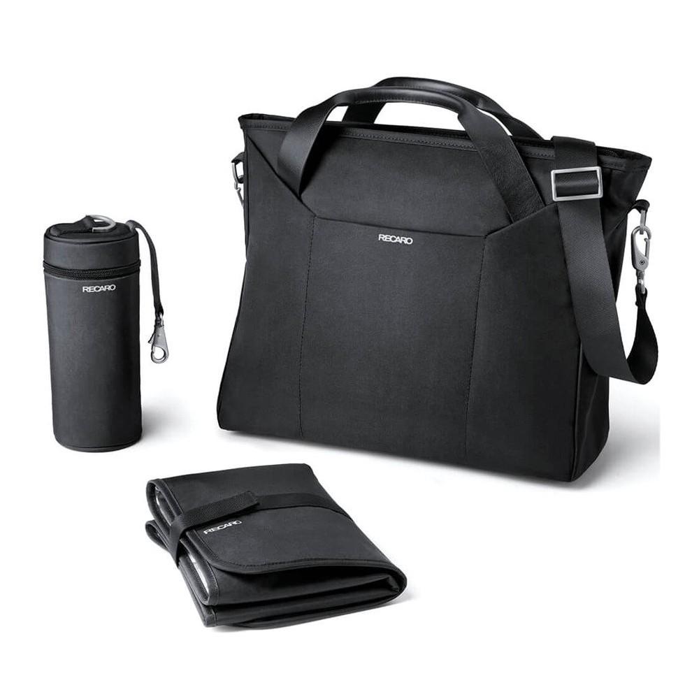 Recaro borsa cambio tracolla multifunzionale 066375 fasciatoio e portabottiglia