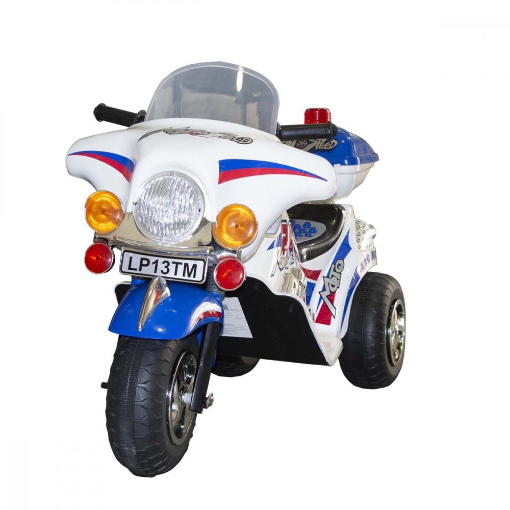 Moto elettrica bambini SPRINT 6V 19560 controllo a pedale luci e suoni