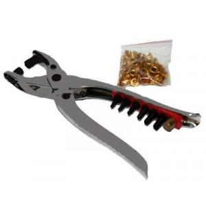 Image of Fustellatrice buca cintura con rivetti 2 in 1 acciaio 797337290319