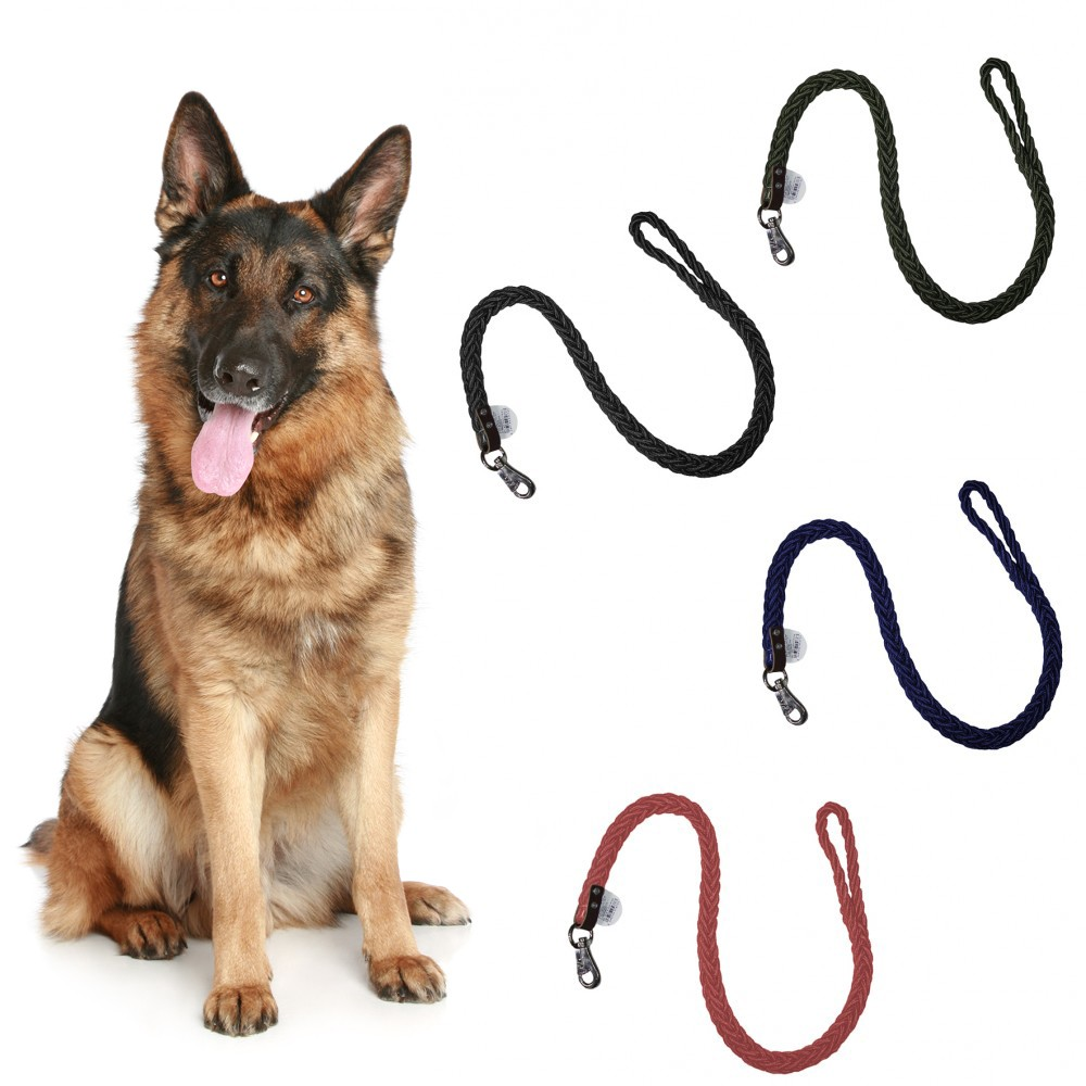 Guinzaglio a corda nylon 5678 per cani taglia media o grande 120 cm x 4 cm
