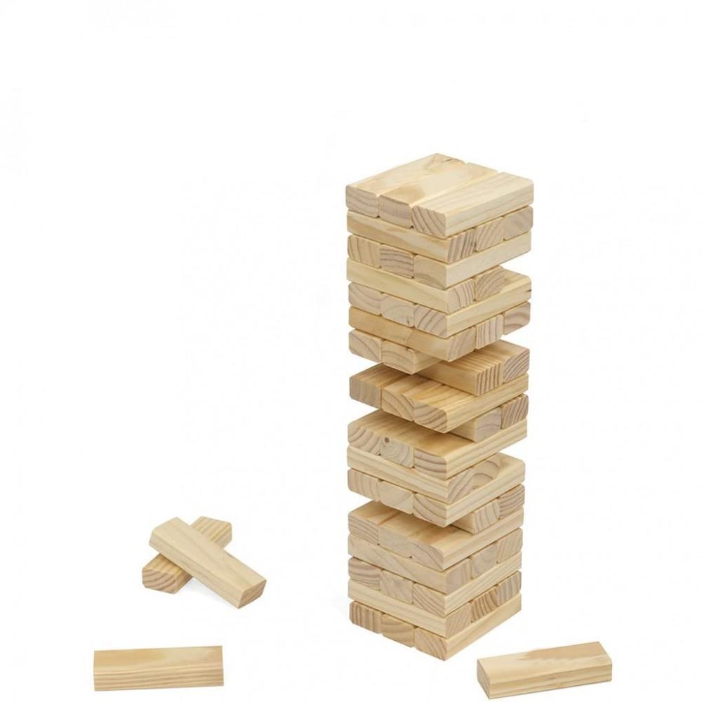 Casca la torre 54 pz gioco di strategia e abilità 751900 in edizione in legno