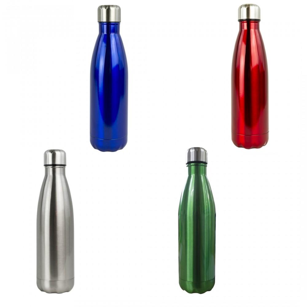 Borraccia bottiglia termica riutilizzabile 750 ml in ALLUMINIO 550151 Senza BPA