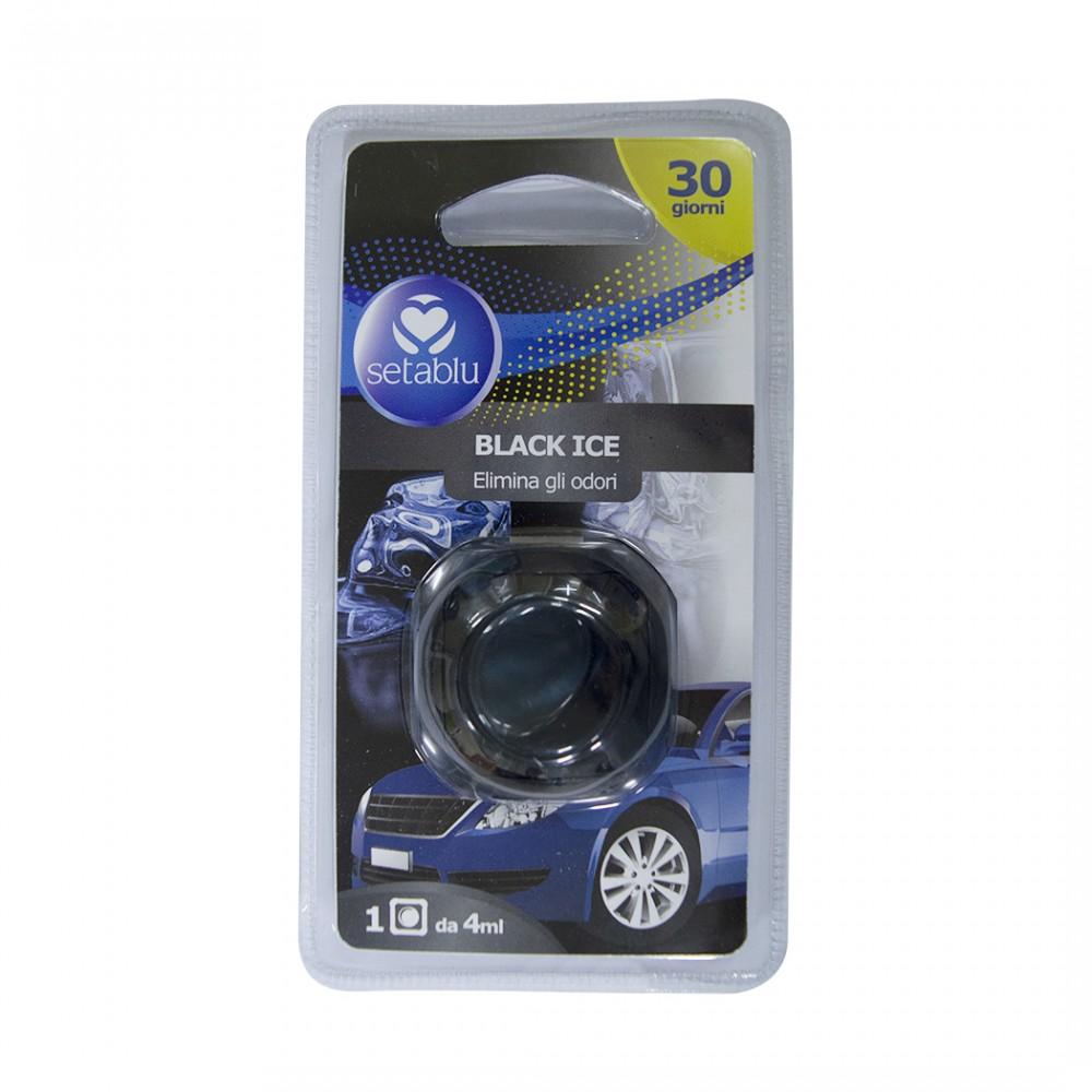Setablu deodorante per auto 591748 aroma black ice elimina gli odori 4ml