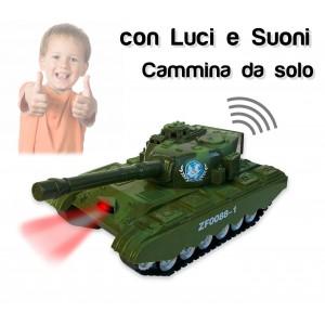 Image of Carro armato militare con luci e suoni realistici prendi la mira punta il cannone e spara 373634 8025656757551