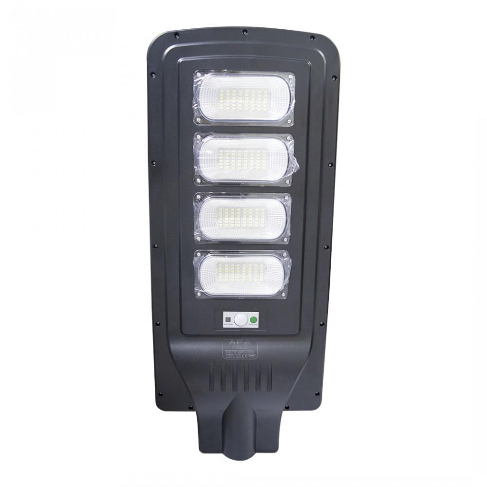 Lampione a ricarica solare 000107 telecomando e sensore movimento 120W 192 Led